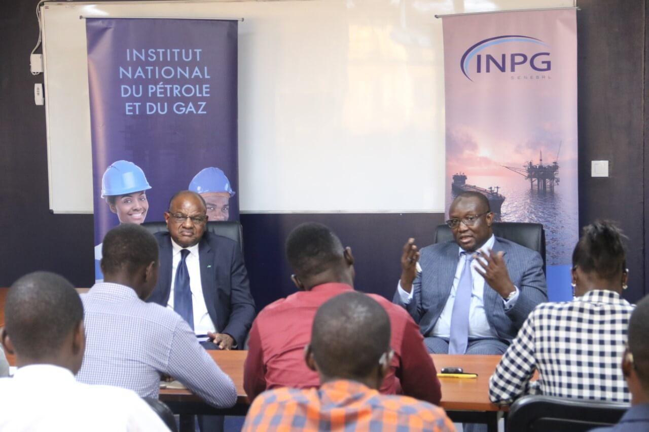 Visite officielle du Ministre du Pétrole et des Énergies à l'INPG