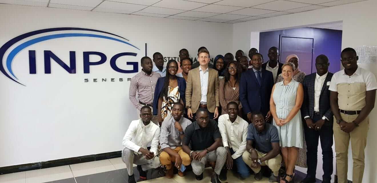 Visite de S.E.M Georges HODGSON à l'INPG